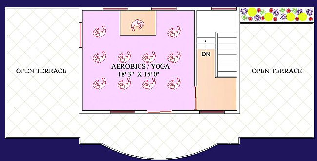 Clubhouse - First Floor Plan
